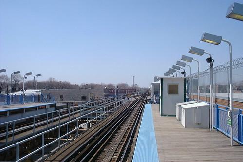 railroad usa chicago station electric america illinois cta railway el il electricity l elevated 電 电