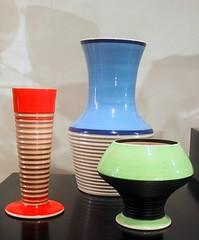 Clarice Cliff vases