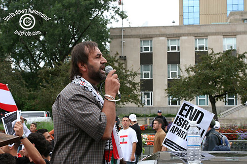 STOP THE WAR speaker Ali Mallah