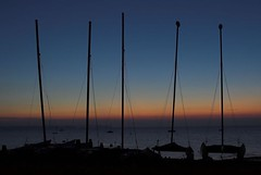 24/07/2006 (Nick Bryant) Tags: sunset beach dusk masts whitstable pad24