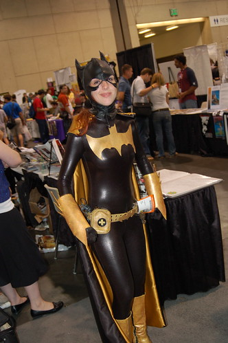 Comic Con 2006: Gold Batgirl