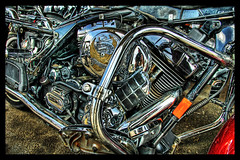 Live to Ride (Stuck in Customs) Tags: bike harley chrome harleydavidson motorcycle hog hdr nikonstunninggallery