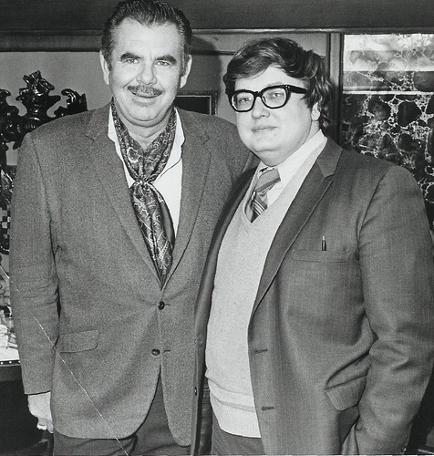 Russ Meyer and Roger Ebert by RoninKengo.