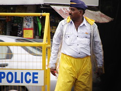The Traffic Policeman (calamur) Tags: india traffic indian police mumbai monsoons sonydsch2