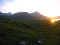 ben more coigach (Mr Sugden) Tags: sunset scotland benmorecoigach