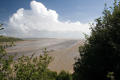 Llansteffan (Sean Bolton (no longer active)) Tags: uk cloud beach water wales sand carmarthenshire westwales coastal cloudporn llansteffan seanbolton ffotocymrucouk ffotocymru
