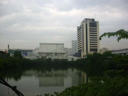 A pond in Cubao