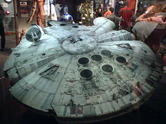 The Millenium Falcon (soldierant) Tags: columbus starwars model cosi milleniumfalcon thecenterofscienceandindustry
