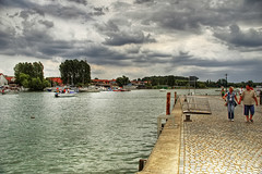 Harbour (DelusionIsReality) Tags: d50 germany nikon harbour sigma nikond50 dslr hdr mritz waren photomatix 18125
