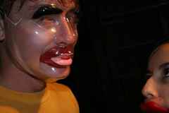 TMWDPE (sgoralnick) Tags: party mask bbq william creepy waxlips themostwelldocumentedpartyever