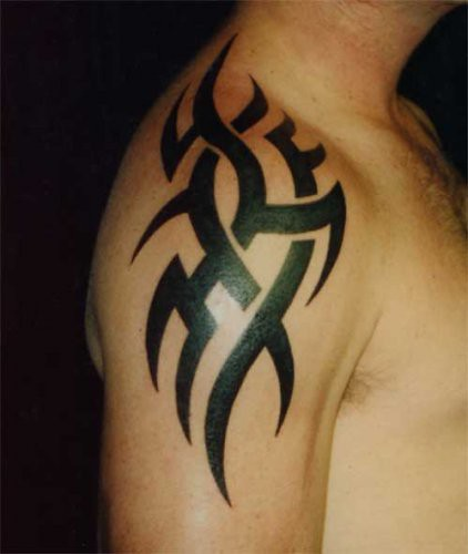Cool shoulder Tattoo Ideas With Tribal Tattoo Designs With Image Shoulder Tribal Tattoo Picture 3