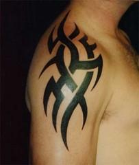 four arm tribal tattoo   Tribal tattoos designs