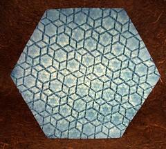 Lightbox Testing: Joel Cooper, RAW vs. JPG (Origami Tessellations) (EricGjerde) Tags: origami expo joel cooper tessellation paperfolding papiroflexia lightbox rawvsjpg phototests