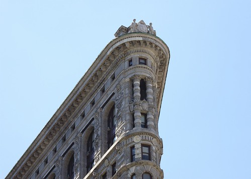 Flatiron Building from the east detail