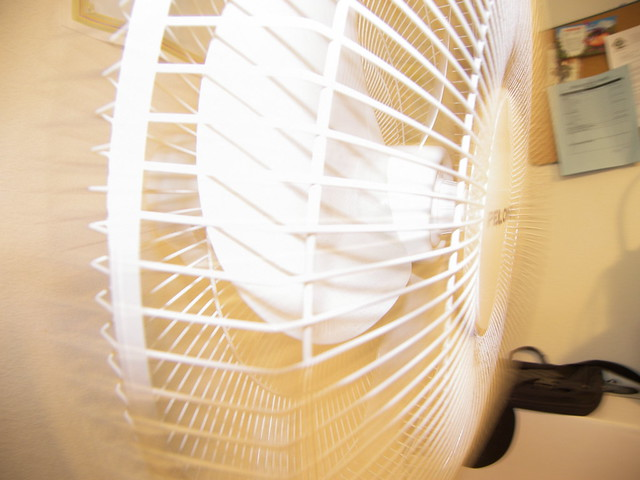 Long Exposure of Fan