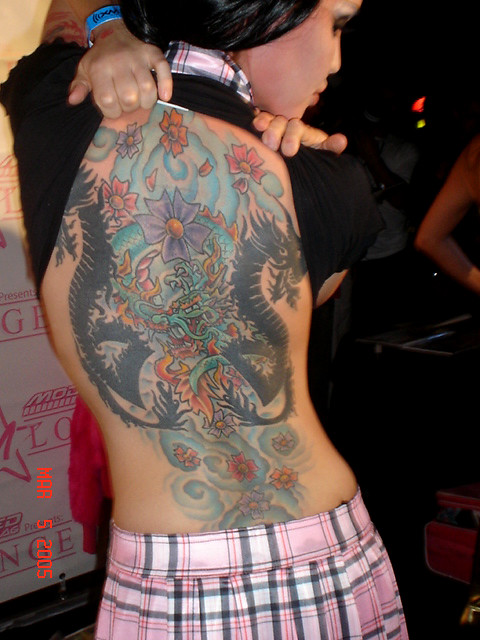 Msuami Max Tattoo. her tattoo is very impresive