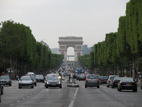 Avenida Campos Elíseos Paris (Foto de james)