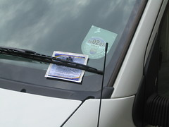 A parking ticket!