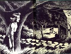 inside covers:  Nancy Drew--The Secret of the Old Clock * Carolyn Keene - by Carla216