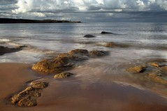 The Nasty North Sea (Ray Byrne) Tags: sea beach water canon 350d coast rocks north calm northumberland shore northeast sugarsands lowstead raybyrne nd4filter byrneout byrneoutcouk webnorthcouk