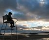 Helsinki, Vuosaari (Taiga the Fox) Tags: light sea sky beach kids clouds finland landscape helsinki vuosaari kallvik