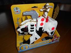 Fisher Price Imaginext Power Ranger White Ranger and Tigerzord (ItalianToys) Tags: toy toys giocattolo giocattoli fisher price imaginext power ranger white bianco tigerzord