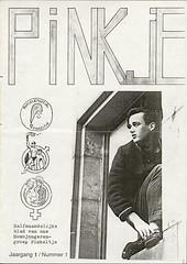1987 PINKje nr 1 (www.lesbischarchief.nl) Tags: 1987 nijmegen homojongeren pinkeltje dito lhbt rozegeschiedenis