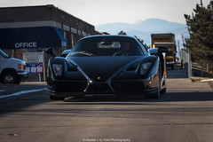 Nero (Hunter J. G. Frim Photography) Tags: supercar colorado ferrari italian enzo nero daytona v12 carbon rare nerodaytona ferrarienzo black legend