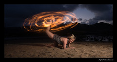 Baila (madmarv00) Tags: bailamarsow d800 makapuu nikon fire fireartist hawaii kaiwishoreline kylenishiokacom oahu