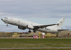 168430  'LF-430'  P-8A Poseidon  USN  VP-16 'War Eagles' (Churchward1956) Tags: scotland aviation poseidon usn airfield morayfirth wareagles raflossiemouth vp16 p8a p8aposeidon 168430