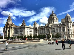The Three Graces (Fields of View) Tags: heritage liverpool liver cunard pierhead graces iphone 3graces
