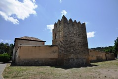 Astudillo (Palencia). Palacio de don Pedro I. Torre de la muralla (santi abella) Tags: españa palencia castillayleón astudillo