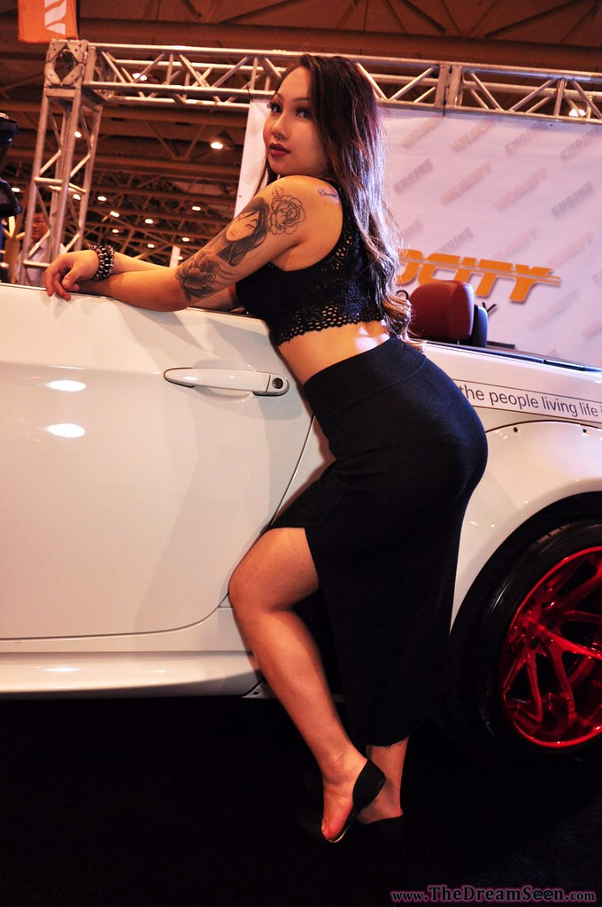 Big booty car show girl question