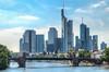 Frankfurter Skyline am Tag (2) (Mr. Kurzschluss) Tags: city skyline skyscraper deutschland hessen frankfurt main stadt hdr hdri mainhatten metropole rheinhessen hochhäuser rheinmaingebiet