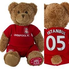 ตุ๊กตาหมีเท็ดดี้ลิเวอร์พูล ที่ระลึก ISTANBUL 2005 ในชุดย้อนยุค 2005 ด้านหลังพิมพ์ ISTANBUL 05 สวยน่ารัก สินค้าพรีออเดอร์ 7-14 วันทำการรายละเอียดสินค้าที่หน้าเว็บ http://www.liverpoolfanshop.com/category/310