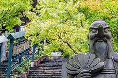 Daish-in Tengu (fushoku) Tags: 190 500mm apsc alpha6000 architecture buddhism daishin epz1650mmf3556oss emount green iso100 mirrorless mountain nature outdoor plant religion sony statue summer temple tengu tree f56