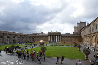 The Vatican - Pine Cone Courtyard