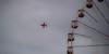 Lone Arrow (LeBlanc_Nigel) Tags: show red wheel plane big display air arrows british bigwheel blackpool redarrows raf stunt