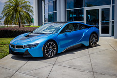 IMG_3770 (Haifax.Car.Spotter) Tags: cars car sport race racecar florida miami ev bmw fl supercar sportscar i8 superscars