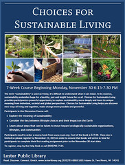 Sustainable Living (Lester Public Library) Tags: library libraries publiclibrary lpl publiclibraries librariesandlibrarians libraryprogram 365libs lesterpubliclibrary readdiscoverconnectenrich wisconsinlibraries lesterpubliclibrarytworiverswisconsin