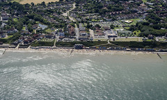 This afternoon on Mundesley beach (John D F) Tags: summer beach coast norfolk aerial mundesley