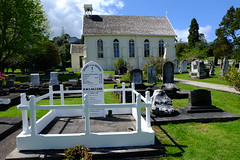 Here lie heroes (cupitt1) Tags: newzealand church graveyard russell tombstone chapel warrior settlers maori sailor diamondp hmshazard
