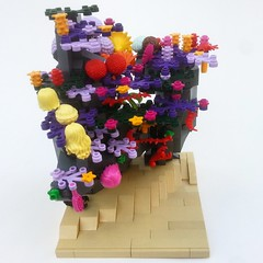 Coral Reef and Hardsuit (Danny-Longlegs) Tags: coral underwater lego reef mech hardsuit