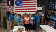 """Sponsored Packing Event with Lake Worth Columbiettes • <a style=""""font-size:0.8em;"""" href=""""http://www.flickr.com/photos/58294716@N02/22334892349/"""" target=""""_blank"""">View on Flickr</a>"""