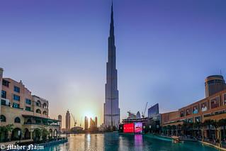 Dubai Tower .