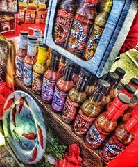 Hot sauce (klaudiajurewicz) Tags: food hot sauce local hotsauce