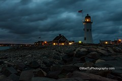 Scituate Lighthouse before Sunrise (B.MacLean) Tags: nightphotography lighthouse night canon us lighthouses nightshot flag ngc newengland canoneos usflag scituate canonefs1022mm canonefs1022mmf3545usm scituatelighthouse canoneos50d canon50d newenglandlighthouses