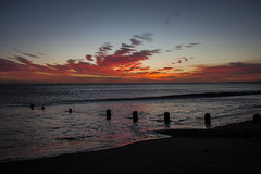 Sunrise From Spittal Beach. (strangequark77) Tags: beach sunrise dawn coast seaside northumberland coastal northsea berwick berwickupontweed spittal