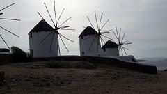Los molinos de viento. Chora. Isla de Mikonos. Grecia (escandio) Tags: 3 4 grecia chora mikonos 2015 cicladas islademikonos