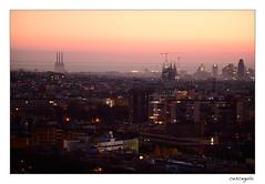 Vista de BCN--03 (cesceguia) Tags: barcelona amanacer sortidasol